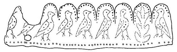 Motiv na fragmentu A.
