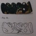 Motiv na fragmentu A. Obrázek převzat z Holmquist Olausson - Petrovski 2007: 232; Fig. 3b-c.