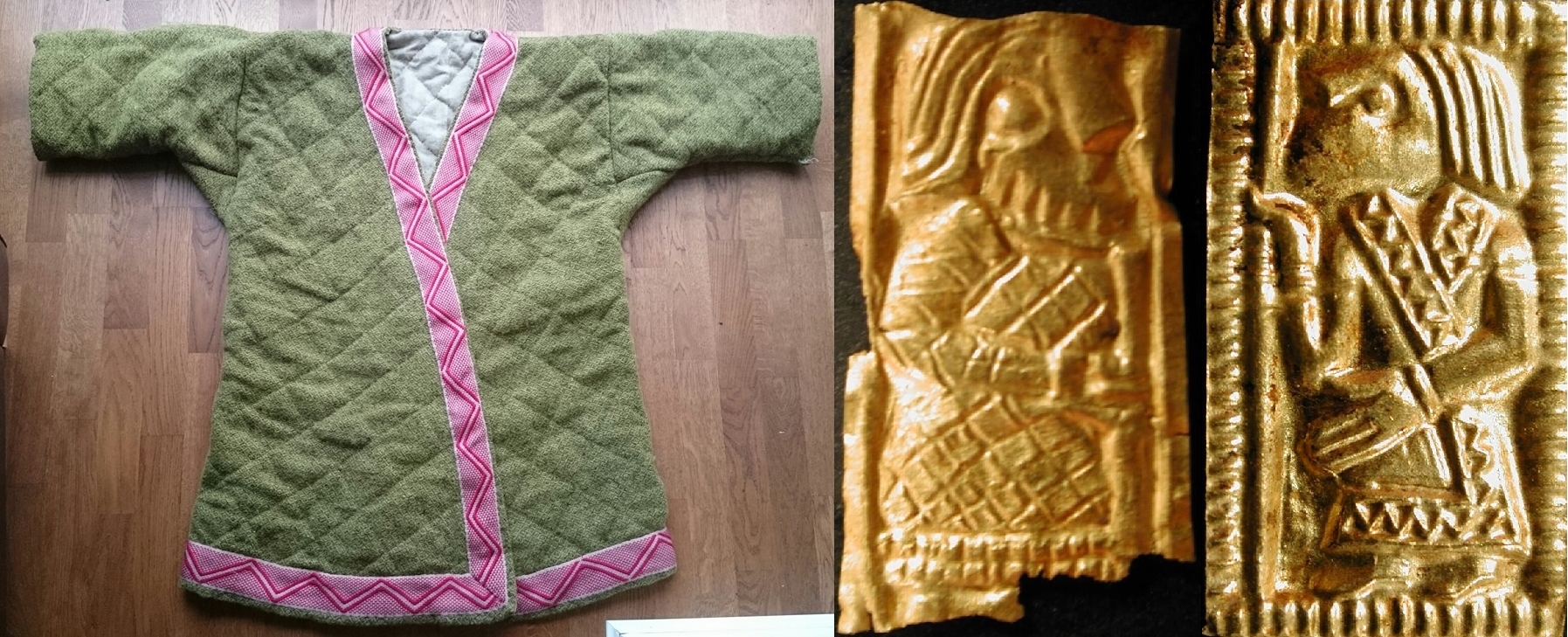 An interpretation of Vendel Age coat of Matt Bunker.