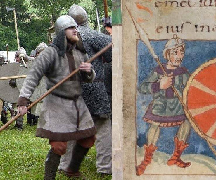 Fabric armor of Roman Král.