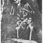 Fotografie hrobu č. 113 z naleziště Jauneikiai. Převzato z Kazakevičius 1988: 115, Obr. 46.