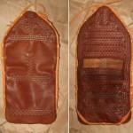 Replika peněženky z hrobu Bj 750