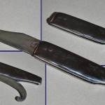 Replika zavíracího nože z hrobu Bj 452.