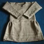 Replika tuniky z norského Guddalu.
