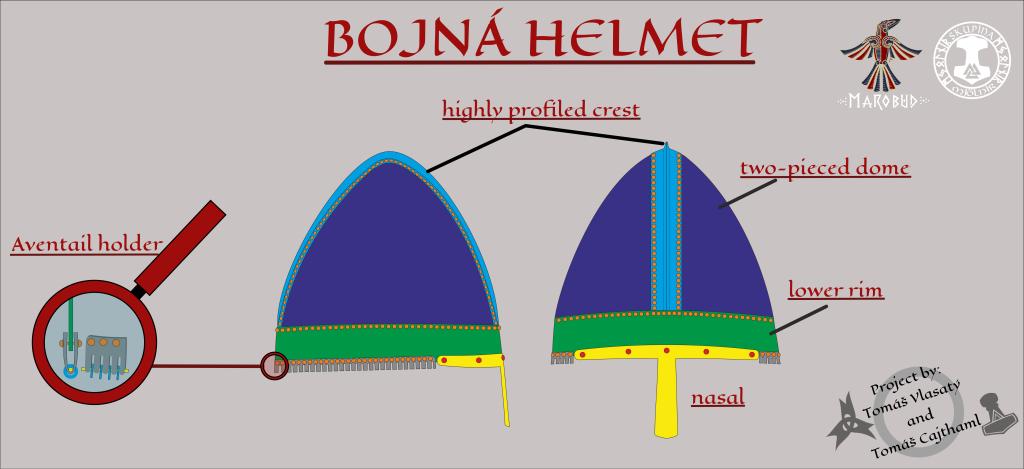 Bojná helmet